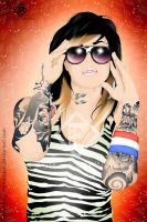 Kat Von D Miami Ink by paulofernandes