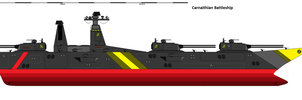 Carnaithian Battleship Request by EmperorMyric