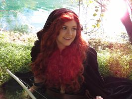 Merida Cosplay by xiaolinpinkfire