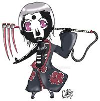 -Chibi Hidan: Contest Prize- by Remorsery