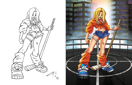 Chasity 2 Side-by-Side by SarahPerryman