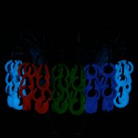 Glow in the Dark Earrings II by Utopia-Armoury