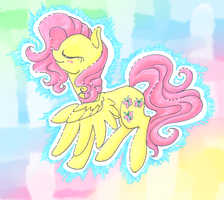 Fluttershy Colors by Otterlore