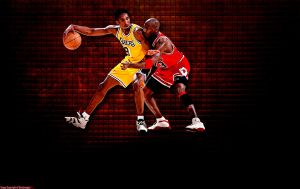 Kobe Bryant Michael Jordan Wallpaper by rhurst