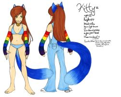 Little Kitty ref sheet by zirio