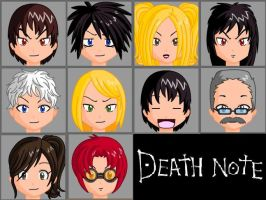 DeathNote Anime Face Maker Pic by Lordviral
