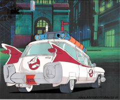 Ghostbusters Production Cel by AnimationValley