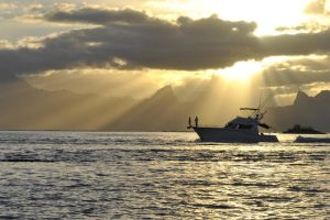 Tahiti Sunset Cruise by resbian2002
