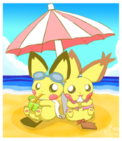 Summertime by pichu90