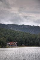 The Lake House in Golcuk - 2 by hephahistos