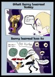 Berry learns from amanda by Sarconis-the-Artist