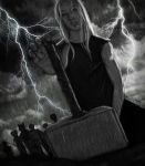 Thor Meets The Hammer by VideaVice