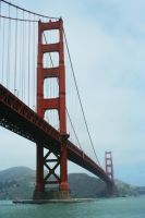 Golden Gate Bridge by kyidyl