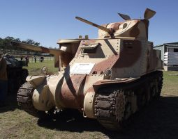 M3 Lee tank on display by RedtailFox