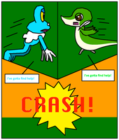 Froakie and Snivy TF Comic - Page 4 by SmartLuxio