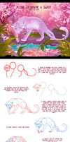 How to draw a sakura tiger step-by-step by Static-ghost