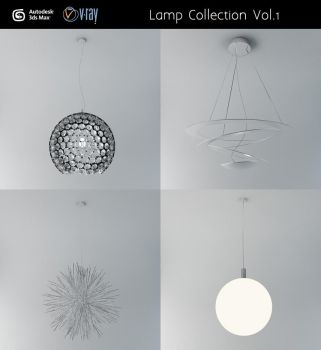 Ceiling Lamp Collection Vol.1 by cocoonH
