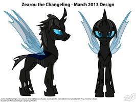 Zearou the Changeling - March 2013 Vector Design by ZearouAyedea
