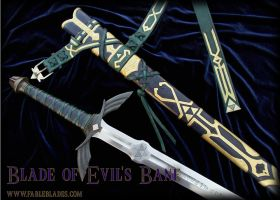 Blade of Evils Bane closeup by Fableblades