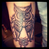 in progress owl by ABYSS-TAT-2S