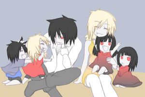 Alucard and Seras's familly by rocz91