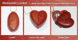 Illusionist Locket by JSevier
