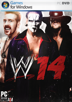 WWE14 Poster by King2002