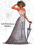 RuPaul: Spider Silk Gown by thelettergii