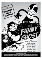 Silent Sillies Halloween Poster 1: The Funny Ghost by JK-Antwon