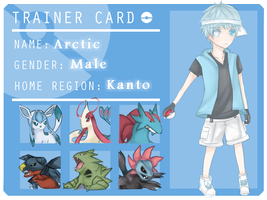 Pokemon Coordinator : Arctic by Ae-vi