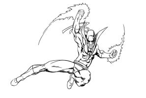 Iron Fist Sketch by JamesDenton