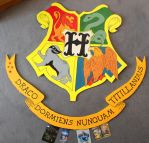 Hogwarts Sign by HeineD