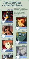 My top 10 fav hotties by Healing-Touch