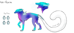 Ice-Form Dereon Adopt #4 (Closed) Draw to adopt by dragons011