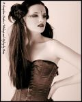 Kristy Victoria, corseted. by kristyvictoria