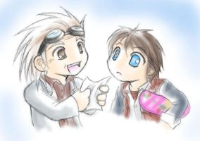 BTTF: Doc and Marty by Carro-chan