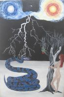 The Temptation of Eve by Nimily