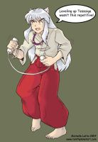 Inuyasha and the Wii by Caliosidhe