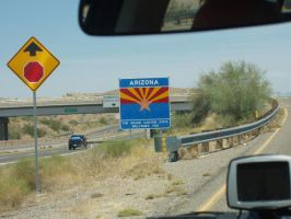 NOW WE'RE IN ARIZONA by rejectedrocker