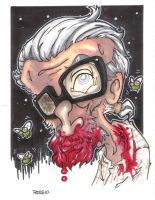 KING OF ZOMBIES MR ROMERO by leagueof1