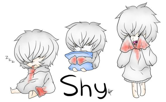 SCP 096 The SHY Guy (SCP Containment Breach) Chibi by SushiBabyQueen