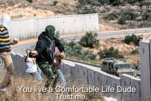 Free Palestine/ You Life comfortable life trust me by jamaicavb