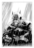 Batman Jim Lee by donchild