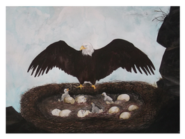 The eagle's last supper by i-UnKnown