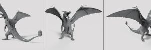 Charizard Sculpt by Akiratang