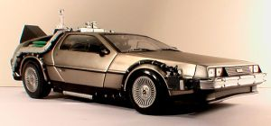 Back to the Future Delorean by thirteenthman