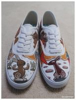 Watership Down Shoes by dai-yu