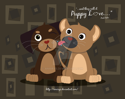 Puppy Love by anairys