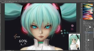 Append Miku WIP (a.k.a Diamond Eyes) by Eddy-Shinjuku
