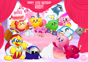Happy 20th Birthday, Kirby! by WannieWirny